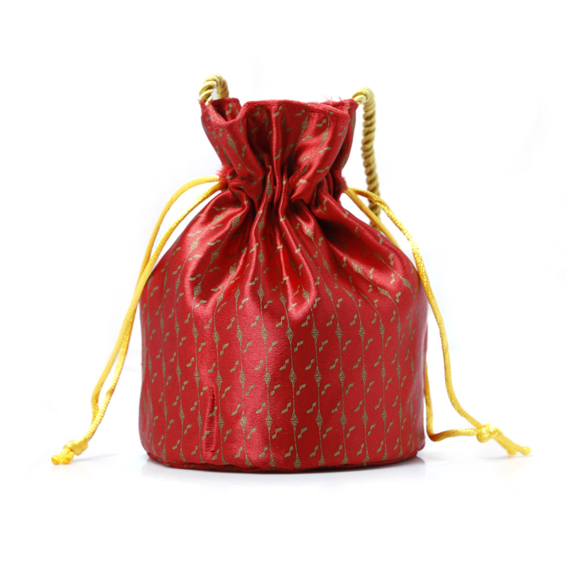 Brocade Drawstring Bag