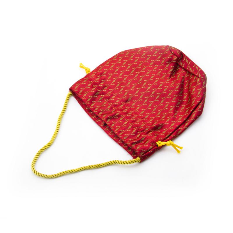 Brocade Drawstring Bag