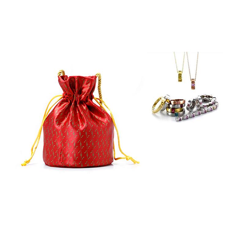 Yonghuajie new arrival silk handbag high quality for wine-4