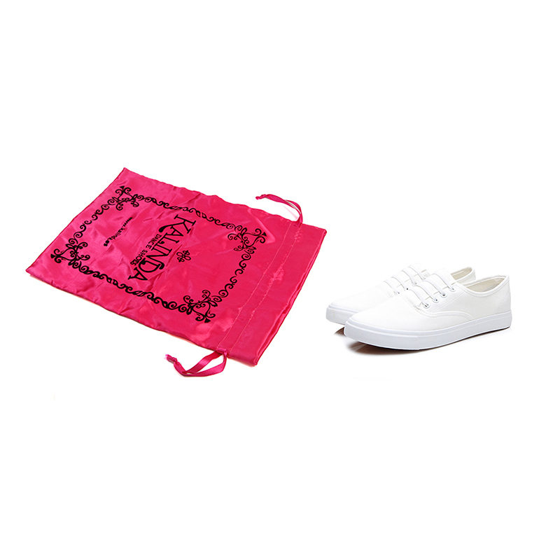 Satin Bags Drawstring Shoe Bag