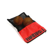 Small Mesh Bags And Nylon Zipper Golf Bag