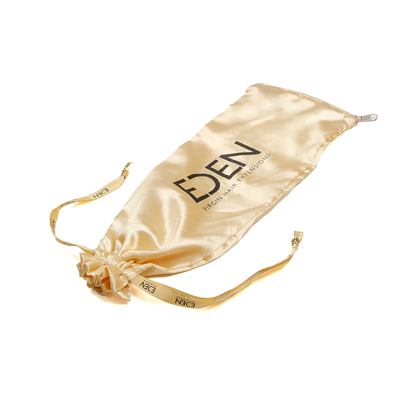 Satin Bags Drawstring Cutlery Bag