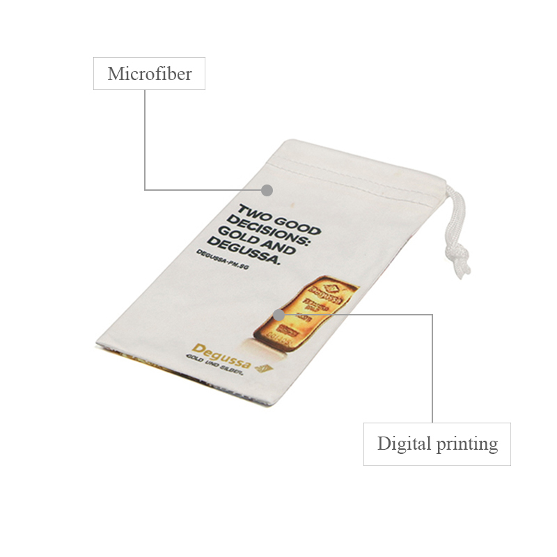 durable microfiber bag at-sale for jewelry store