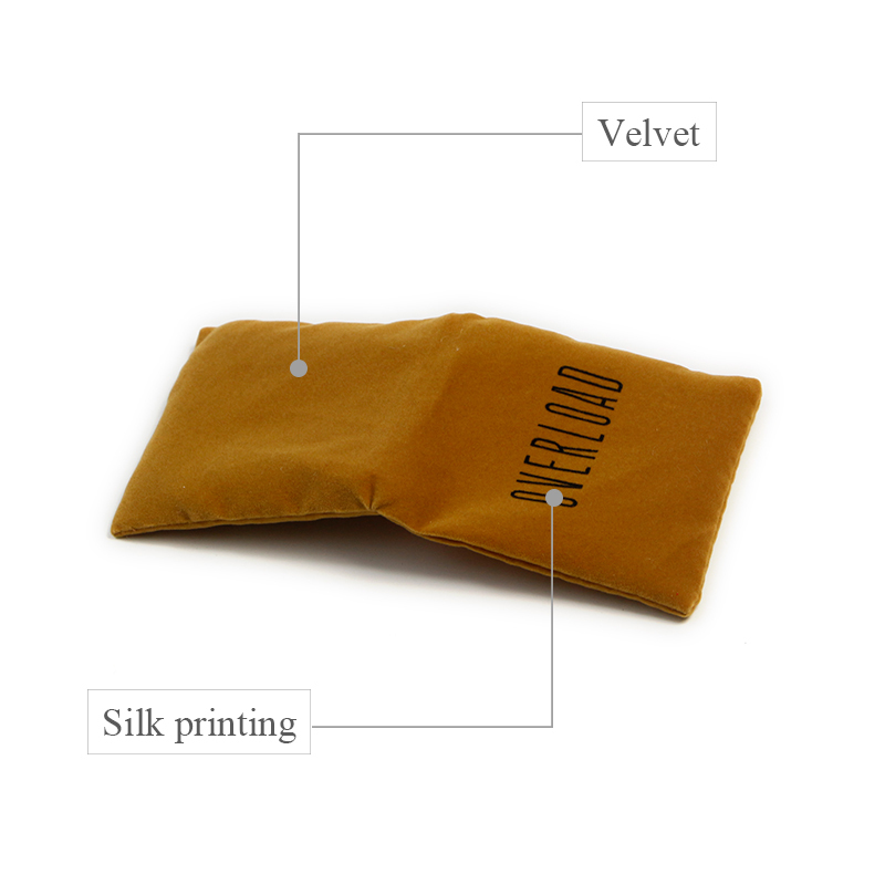 Yonghuajie gold satin bags for wholesale for gift