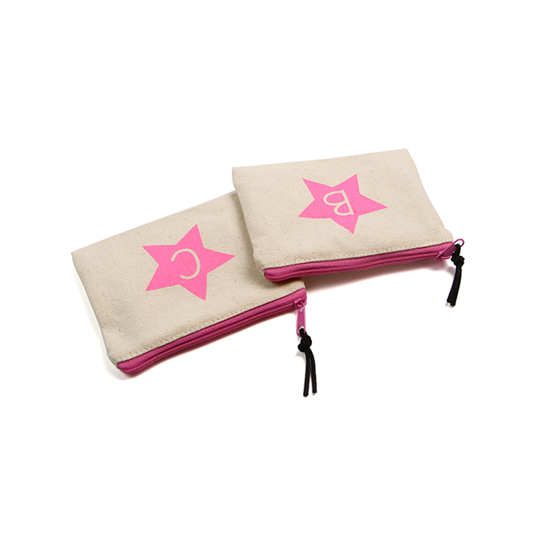 Small Canvas Bags  With Star Printing Logo