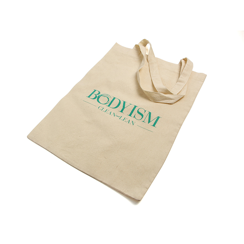 New embroidered canvas tote bags printed with power bank for packing