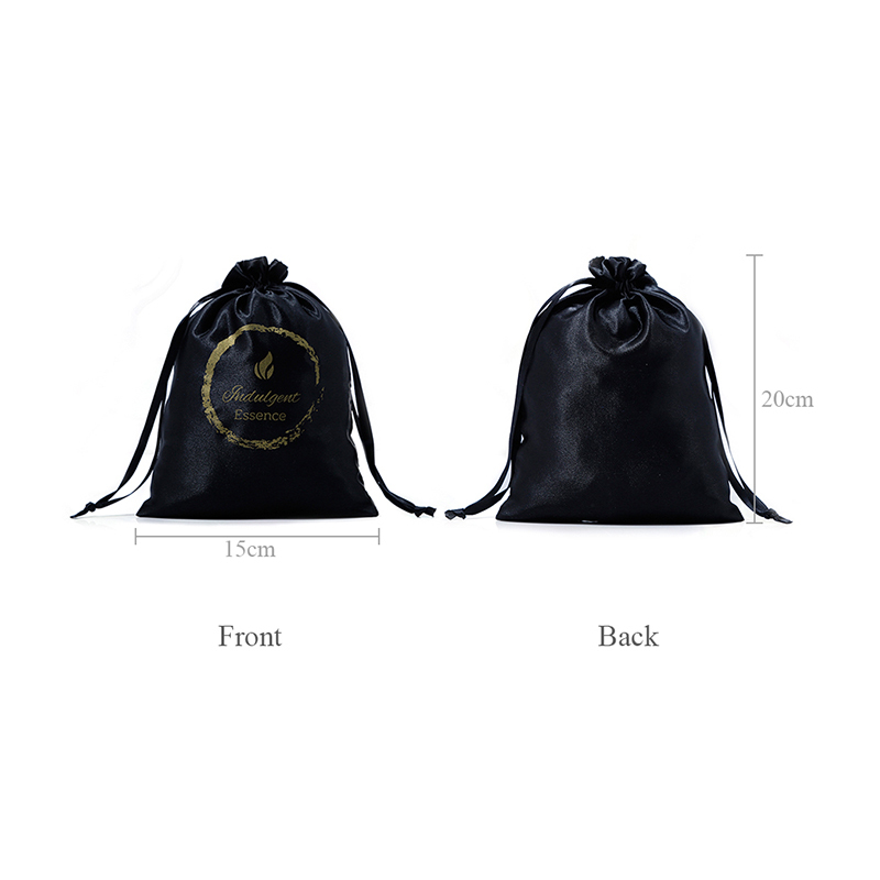 high-end satin bags with handle