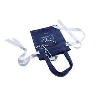Small Velvet Pouch Cosmetic Jewelry Drawstring Tote Bag