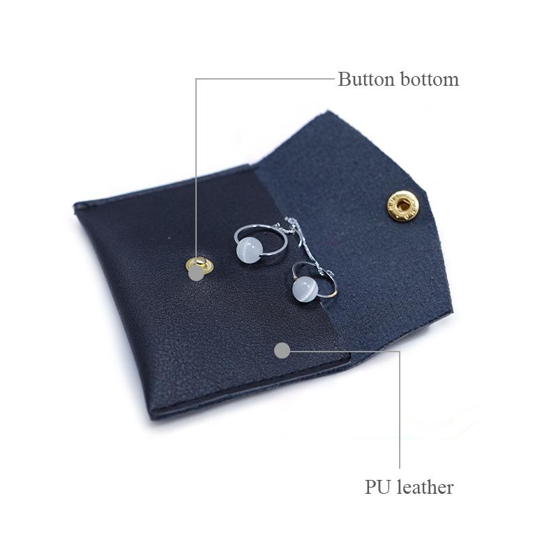 custom small cosmetic bags free sample for wedding rings