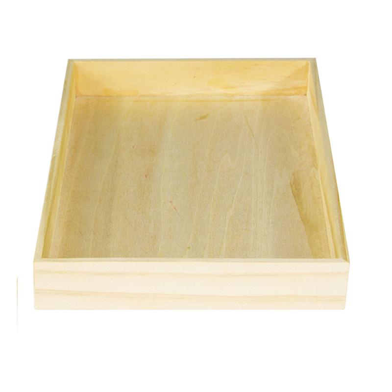 High Quantity Natural Display Wooden Box