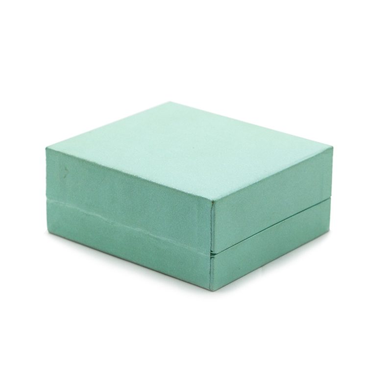 Portable Paper Plastic Jewelry Packaging Box With Insert