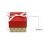 New collapsible paper box ribbon company for jewelry store