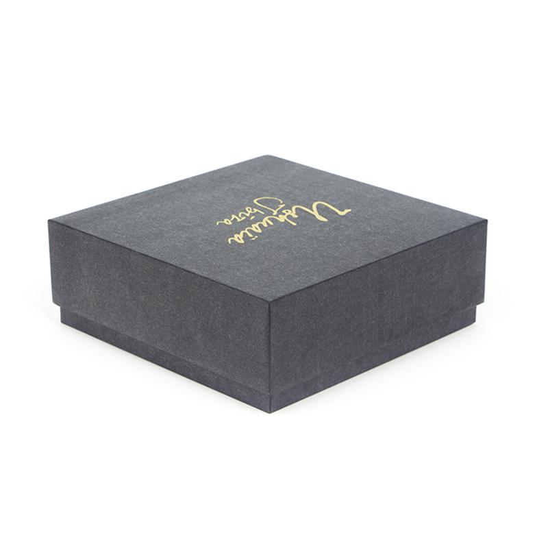 Luxury Thick Paper Cardboard Jewelry Gift Packaging Box
