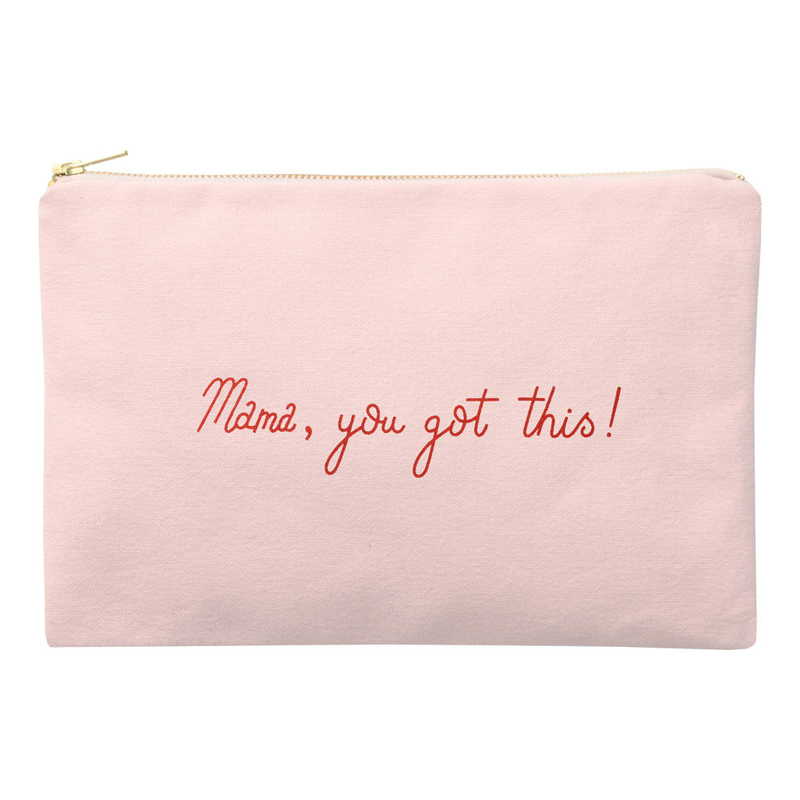 Beautiful Pink Cotton Small Canvas Bags