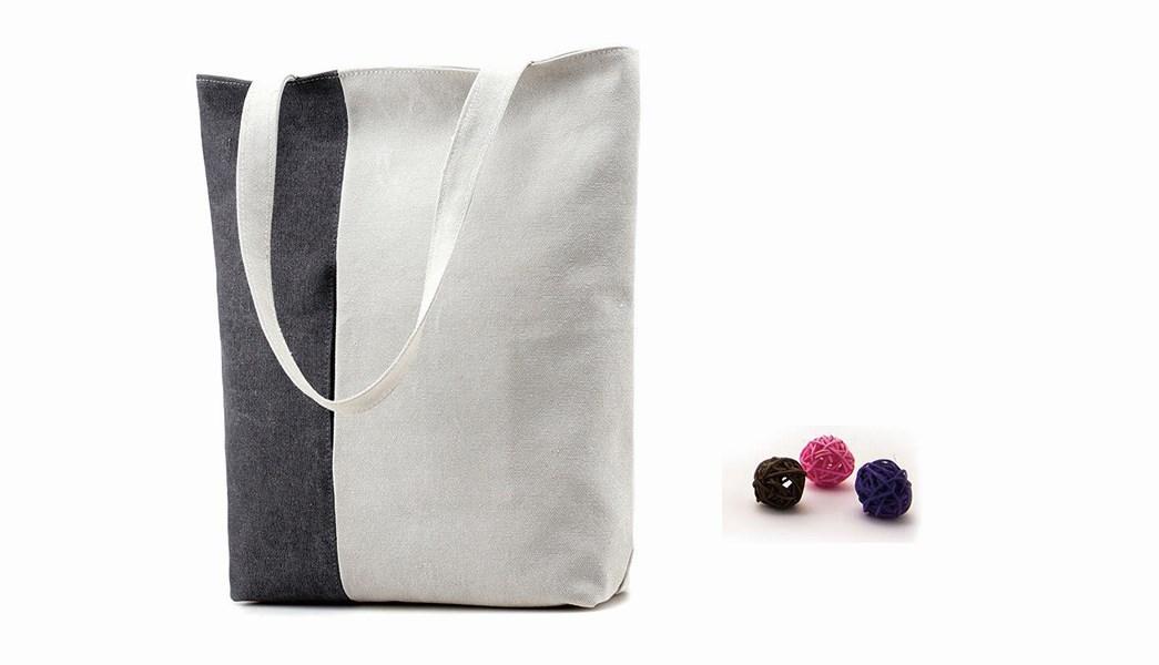 Yonghuajie custom size women's fashion tote bags logo printed for cosmetic