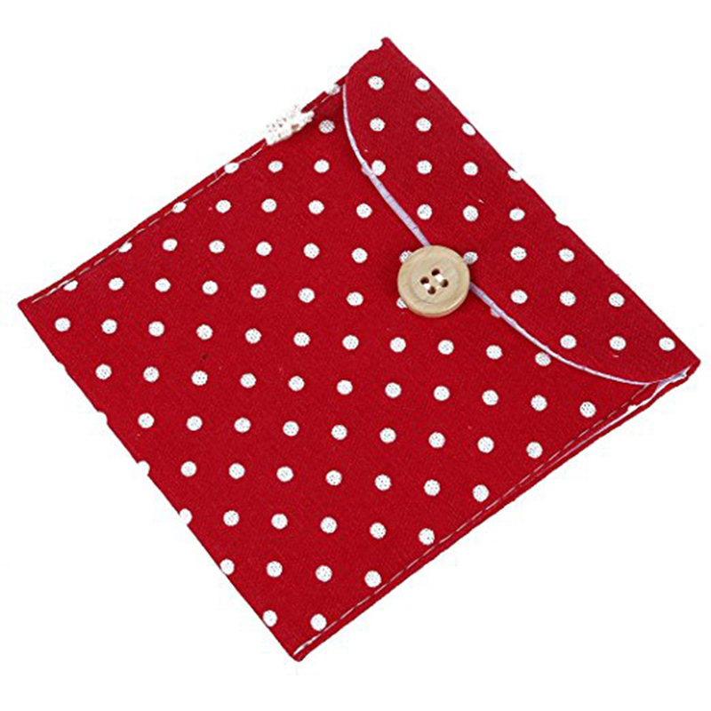 Small and portable womens gift flap bag with button