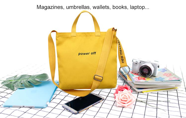 Yonghuajie tassel canvas tote bags canada mat for makeup-6