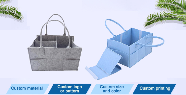 Yonghuajie embroidered felt organizer Supply for storage-1