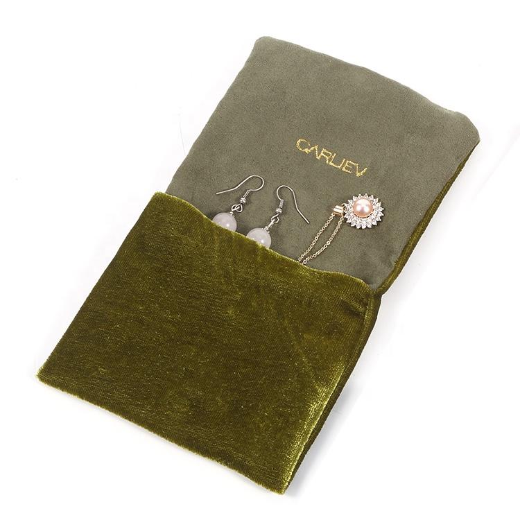 Top velvet bag printed logo manufacturers for gift-5