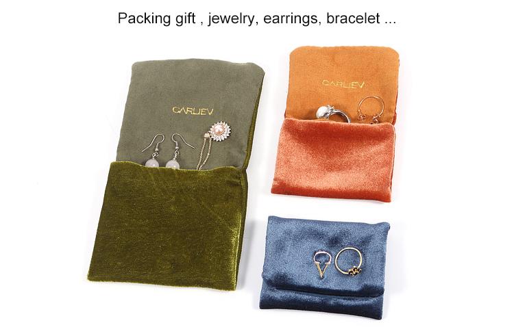 Top velvet bag printed logo manufacturers for gift-6