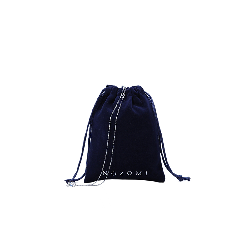 Small velvet pouch jewelry drawstring bag