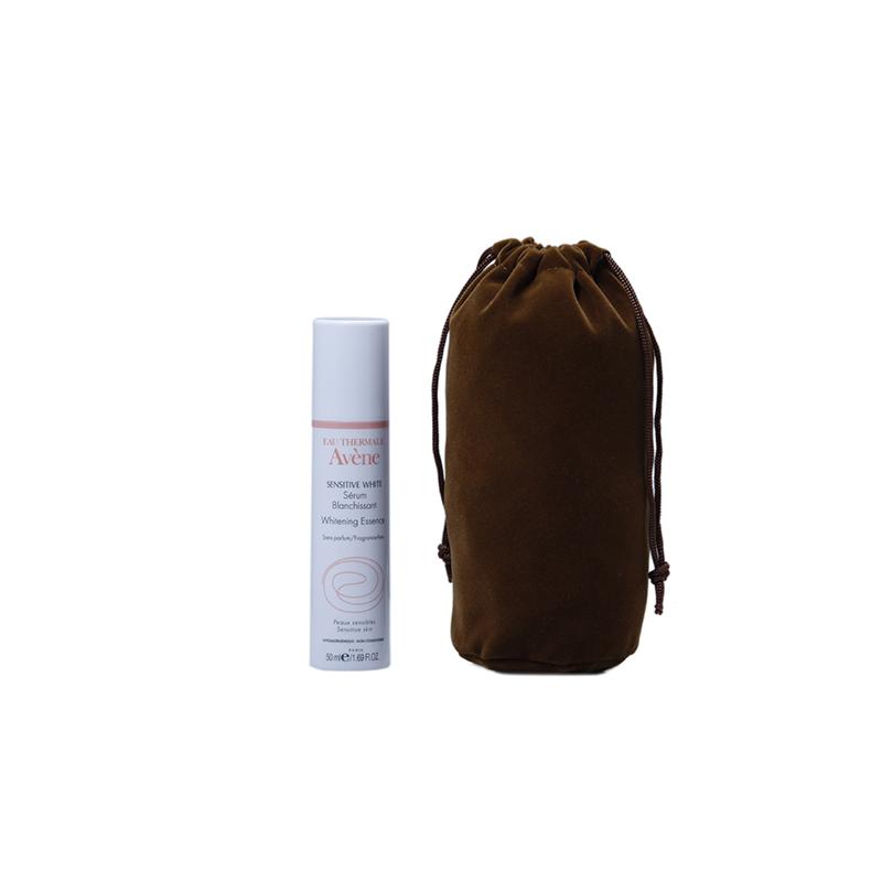 Wholesale custom round bottom drawstring velvet bag