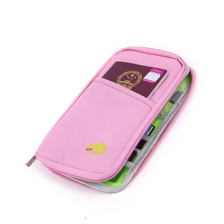 Cash card passport wallet holder bag