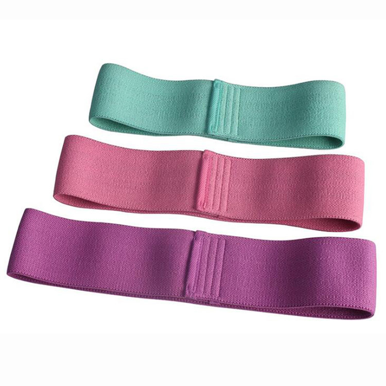 Wide Resistance Bands Sports Fitness for Legs Butt Exercise Hip Workout Bands Anti Slip Elastic