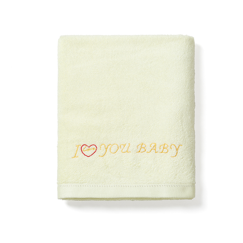 Custom Embroidery Logo Ladies Thick Cotton Bamboo Fiber Wearable Long Bath Towel