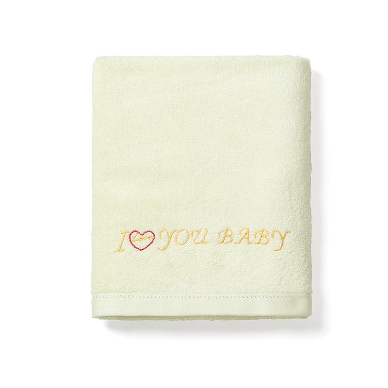 Custom Embroidery Logo Ladies Thick Cotton Bamboo Fiber Wearable Long Bath Towel