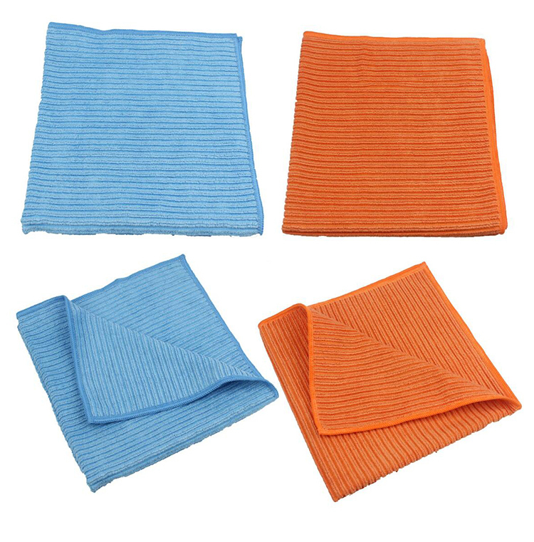 Wholesale custom fast water absorption multi purpose kitchen dish towel set