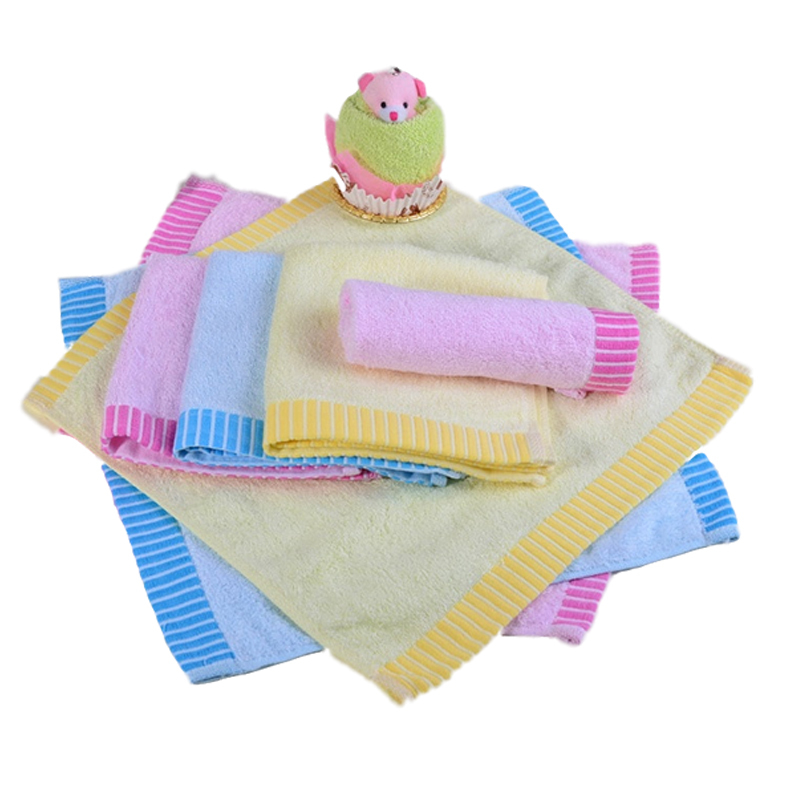 Hot Sale Portable Square Soft Cotton Bamboo Fiber Cleaning Face Towel