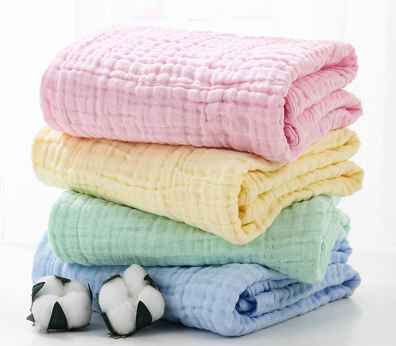 High Quality Luxury Plain 100% Cotton Seersucker Bath Towel