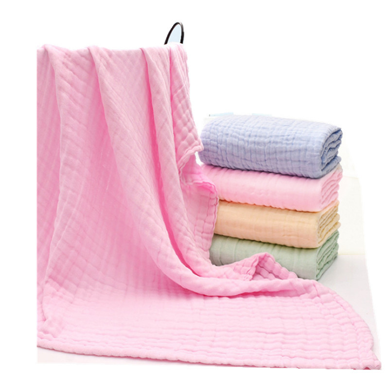 Factory Price Comfortable 100% Organic Cotton Baby Kids Bath Towel