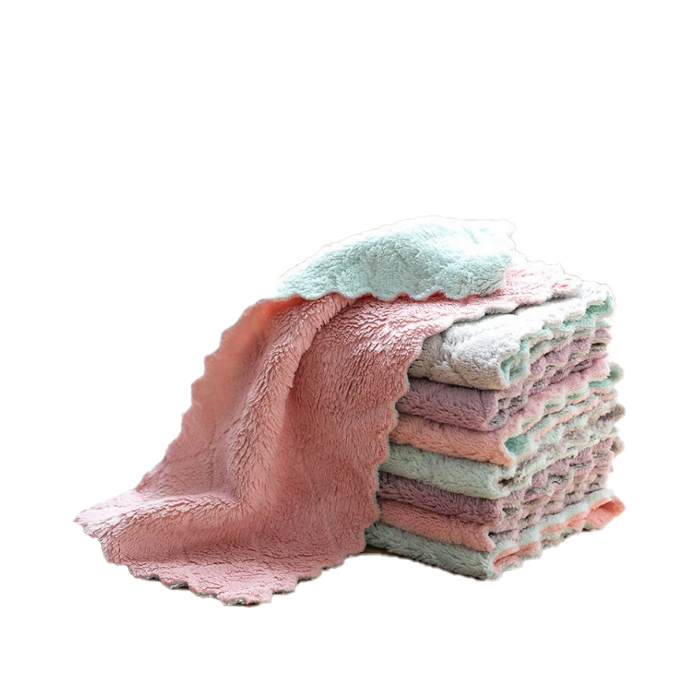 Various Color Eco Friendly Kitchen Dish Cleaning Towels
