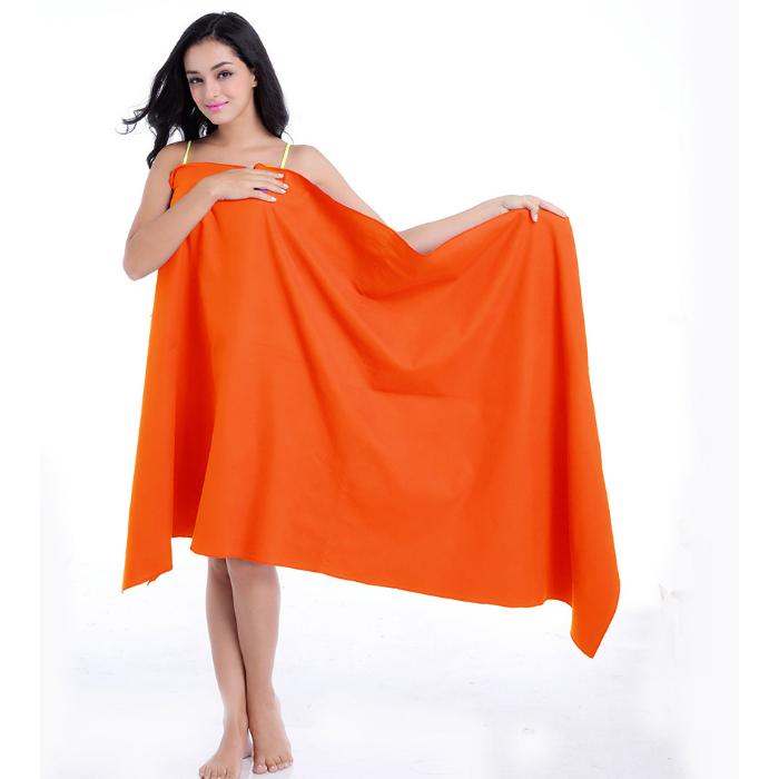 Custom Logo Fashionable Ladies Beach Bath Dress Towels
