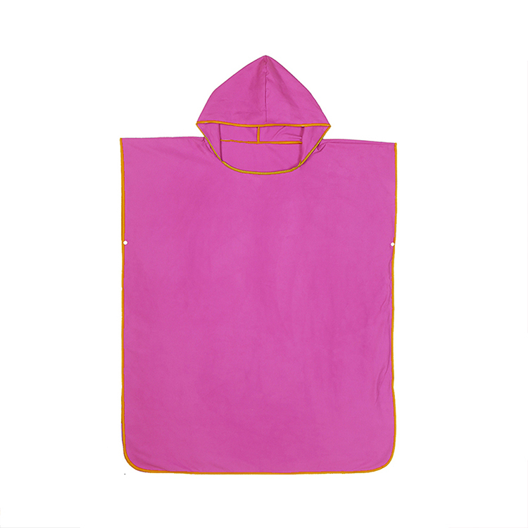 Factory Price Personalised Kids Wearable Hooded Bathrobe