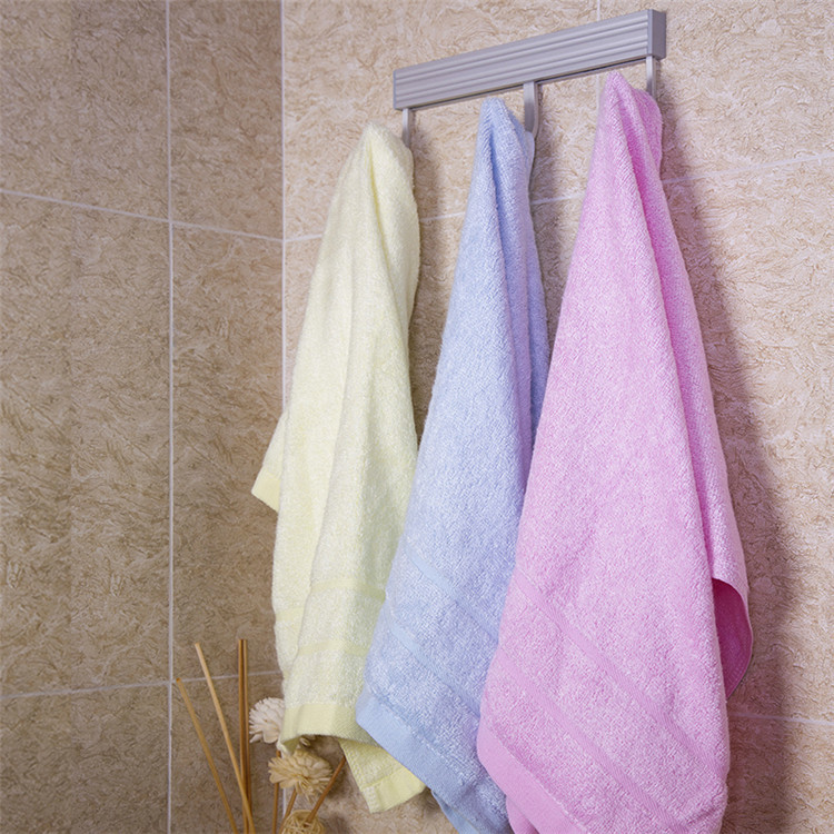 Custom Made Home Environment Beach Plain Bamboo Fiber Cotton Towel