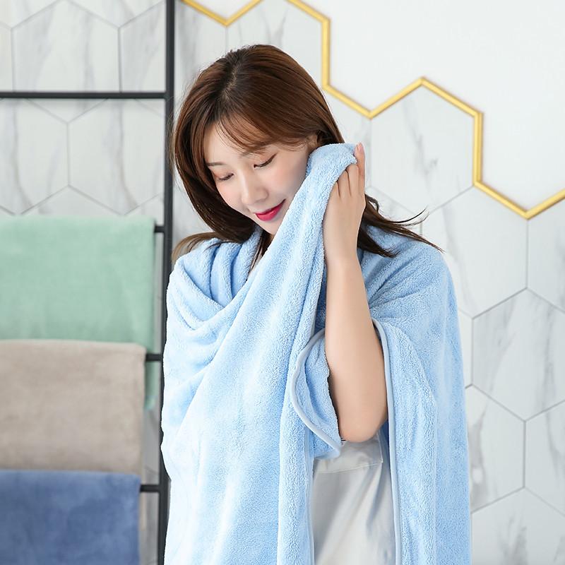 Men Womens Big Size Beach Bath Towel Custom Logo