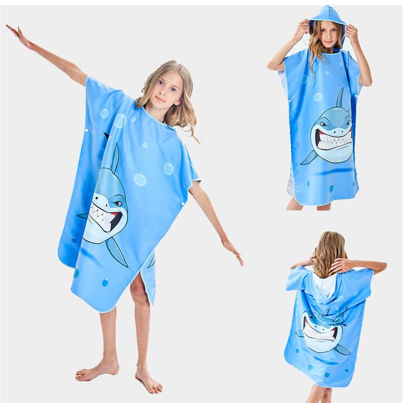 Quick Drying Swimming Towel Beach Seaside Bathrobe