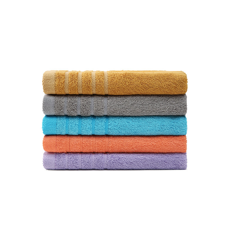 Eco Friendly Bamboo Fiber Outdoor Travel Reusable Household Towel
