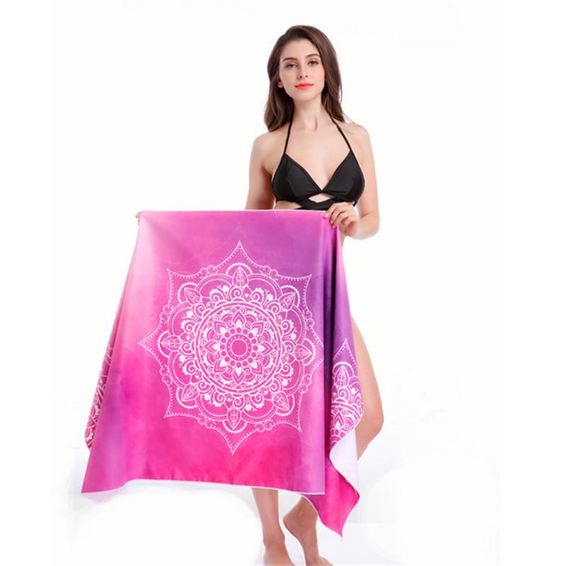 Portable Quick Drying Seaside Beach Swimming Towel
