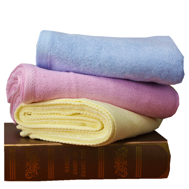 Strong water absorption durable reusable bamboo microfiber towel hotel gift towel