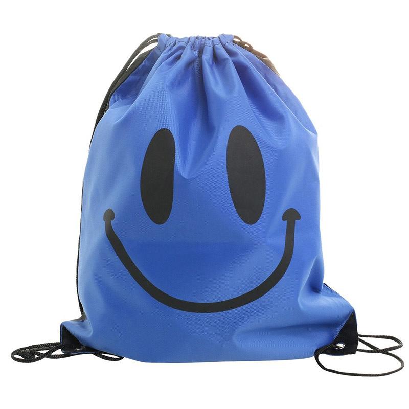 Custom sport cloth backpack packing toys gift drawstring bag printed logo