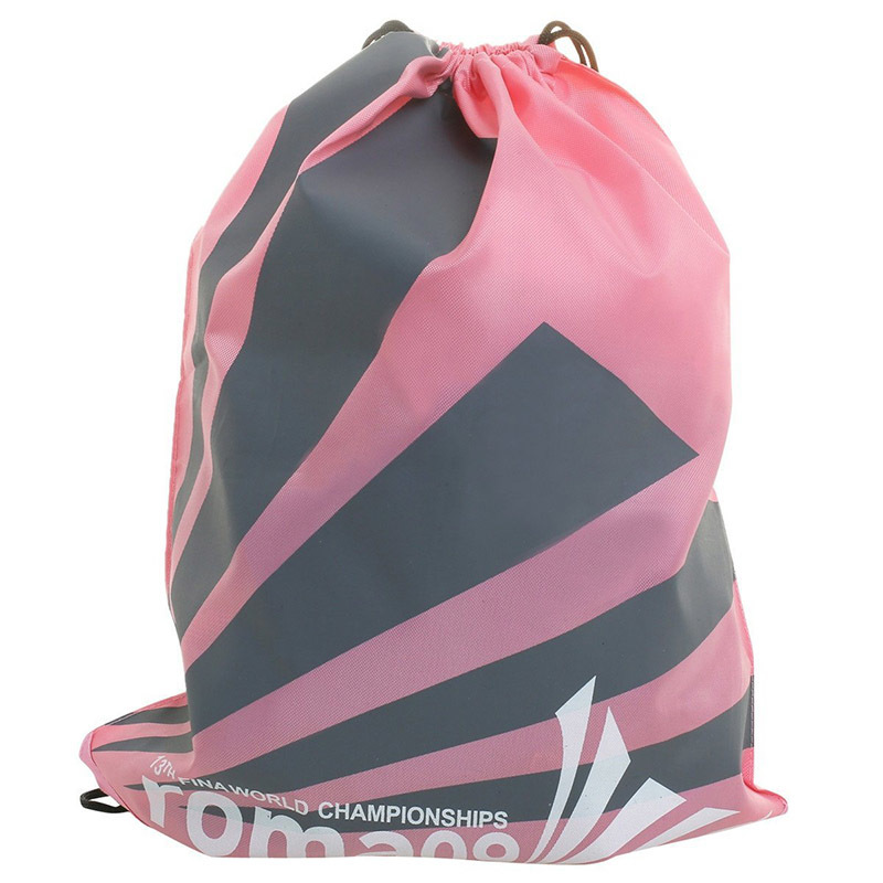 Custom sport cloth backpack packing toys gift drawstring bag printed logo