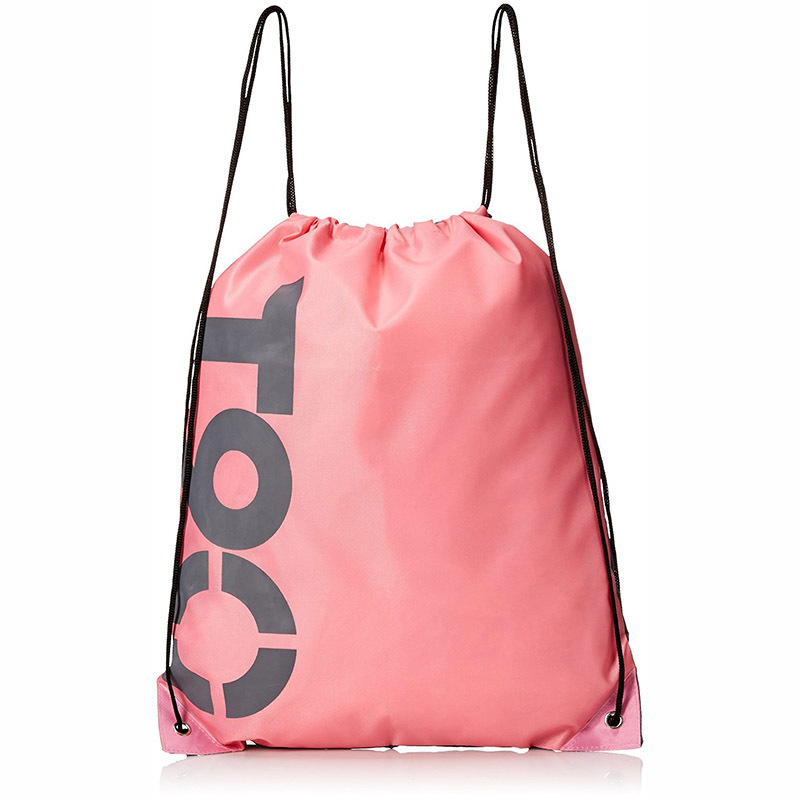 Custom children sport backpack storage clothes gift nylon drawstring bag