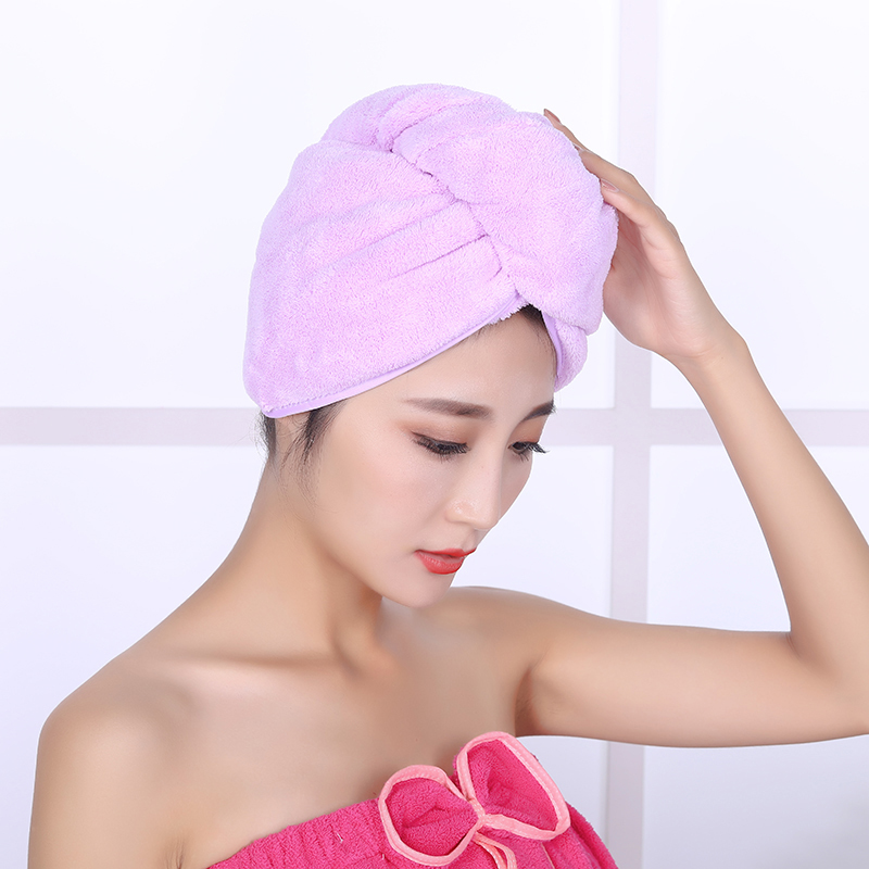 Custom shower cap ladies bath dry hair cap