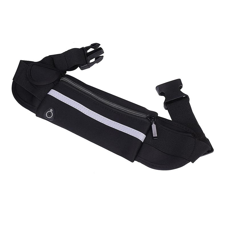Water Resistant Reflective Material Sport  Waist Bag