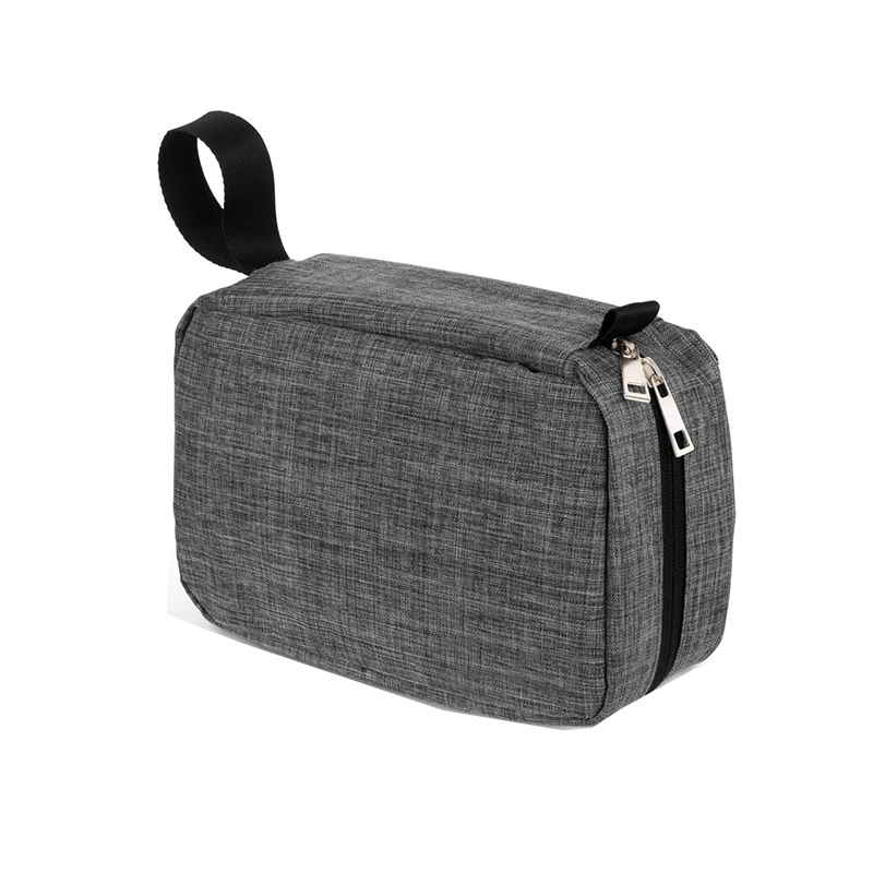 Polyester Hanging Travel Makeup Toiletry Bag For Men And Women