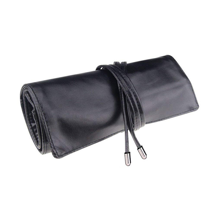 Makeup brushes roll-up pouch for Travel